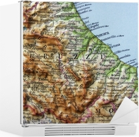 Abruzzo Cartina Politica Dettagliata.Adesivo Abruzzo Pixers Viviamo Per Il Cambiamento