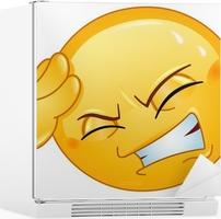 Che faccia ti faccio? - Pagina 3 Adesivi-per-frigorifero-mal-di-testa-emoticon