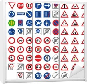 buona qualità intera collezione qualità superiore I segnali stradali e cartelli di pericolo impostati