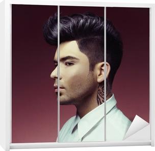 Quadro su Tela L uomo con il taglio di capelli alla moda • Pixers® -  Viviamo per il cambiamento 9eb477f0a4c6