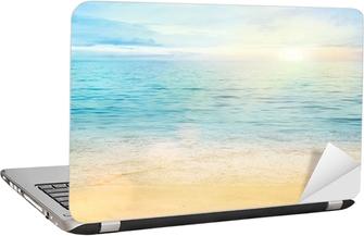 Adesivo per Laptop Mare e sabbia sfondo