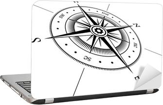 Adesivo per Laptop Windrose
