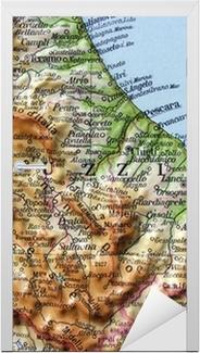 Cartina Molise Dettagliata.Adesivo Cartina Geografica Della Toscana Firenze Pixers Viviamo Per Il Cambiamento