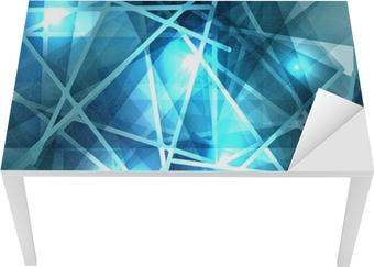 Quadro su tela ice sfondo astratto con linee texture della