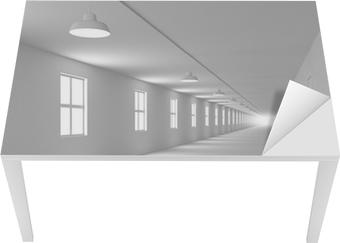 Carta da parati 3d corridoio astratto u2022 pixers® viviamo per il
