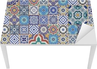 Quadro su tela mega motivo patchwork senza soluzione di continuità