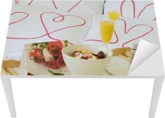 Tavoli Per Colazione A Letto : Poster romantica colazione a letto u2022 pixers® viviamo per il