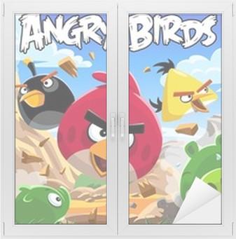 Adesivo per Vetri & Finestre Angry Birds
