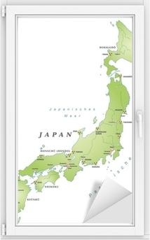 Cartina Muta Giappone.Poster Giappone Cartina Muta Con Le Citta E Guinea Akw Pixers Viviamo Per Il Cambiamento