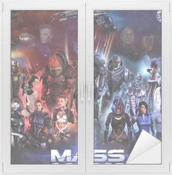 Adesivo per Vetri & Finestre Mass Effect