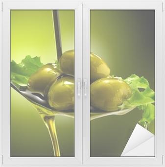 Adesivo per Vetri & Finestre Object-oriented e Olive