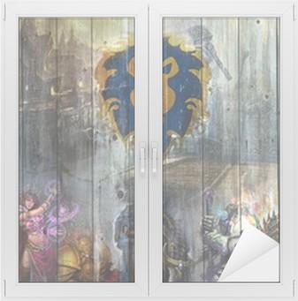 Adesivo per Vetri & Finestre World of Warcraft