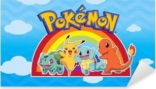 Adesivo Pixerstick Pokémon