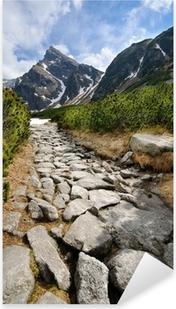 Adesivo Pixerstick Polacco Tatra montagne
