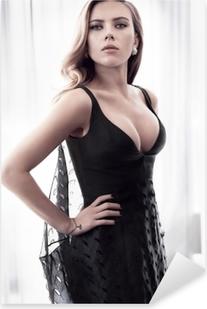 Adesivo Pixerstick Scarlett Johansson