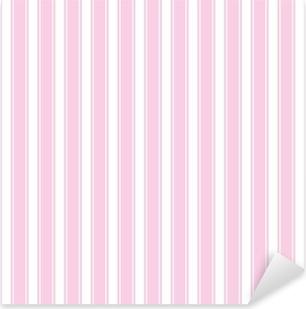 Sfondo Rosa Bianco A Righe Senza Soluzione Di Continuità Ripetibile Vettore