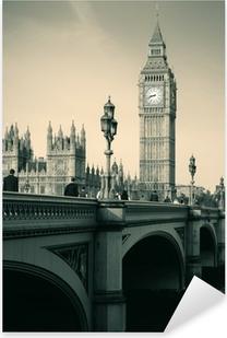 Adesivo Pixerstick Skyline di Londra