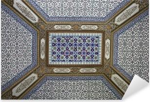 Poster soffitto piastrelle in palazzo topkapi istanbul turchia