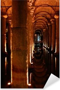 Adesivo Pixerstick Sotterraneo palazzo cisterna di istanbul