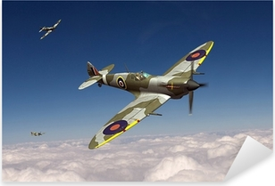 Adesivo Pixerstick Supermarine Spitfire