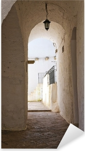 Adesivo Pixerstick Vicolo. Specchia. Puglia. Italia.