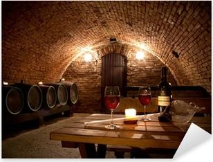 Adesivo Pixerstick Wine cellar