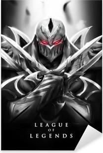Adesivo Pixerstick Zed - League of Legends