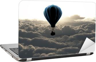 Adesivo para Notebook air balloon on sky