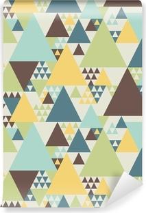 Afwasbaar Fotobehang Abstract geometrisch patroon # 2