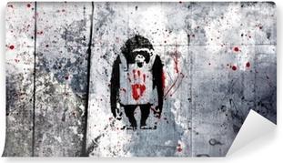 Afwasbaar Fotobehang Banksy
