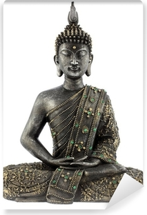 Afwasbaar Fotobehang Bouddha statue de bronze zen