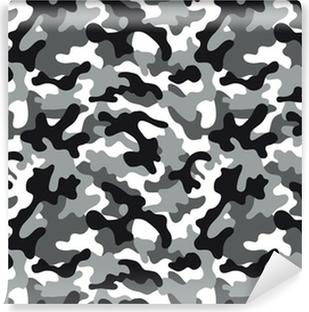Afwasbaar Fotobehang Camouflage naadloze patroon