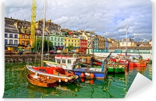 Afwasbaar Fotobehang Cobh in Ierland