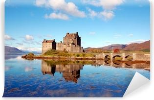 Afwasbaar Fotobehang Eilean Donan Castle, Highlands, Schotland