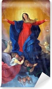 Afwasbaar Fotobehang Hemelvaart van de Maagd Maria