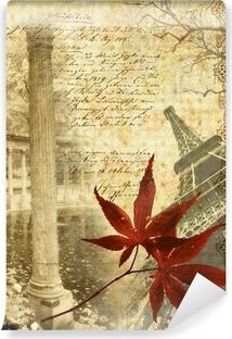 Afwasbaar Fotobehang Herinneringen over Parijs
