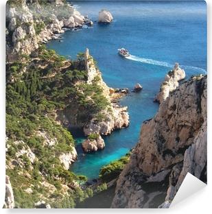 Afwasbaar Fotobehang Marseille - Calanques Sugiton (Frankrijk)