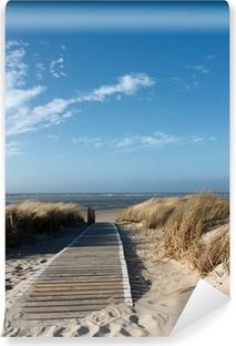 Afwasbaar Fotobehang Noordzeestrand op Langeoog