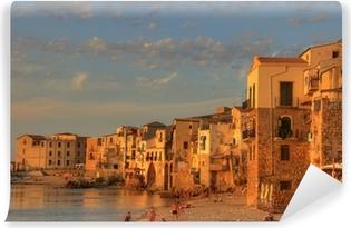 Afwasbaar Fotobehang Scenes van Sicilië