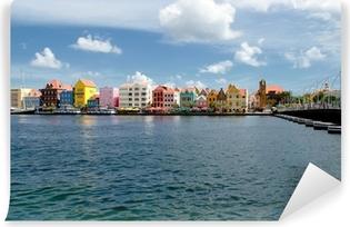Afwasbaar Fotobehang Willemstad auf Curaçao