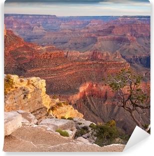 Afwasbaar Fotobehang Zonsopgang boven de Grand Canyon