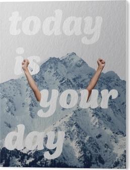 I dag er din dag Akryl Tryk