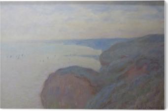 Akryltavla Claude Monet - Klippan nära Dieppe