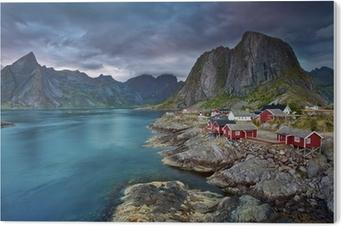 Akryltavla Norge