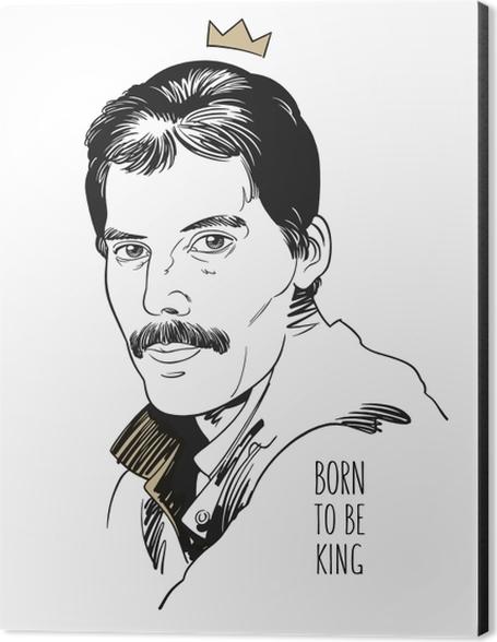 Born to be King - DaZa Aluminium Print (Dibond) - Contemporary artists