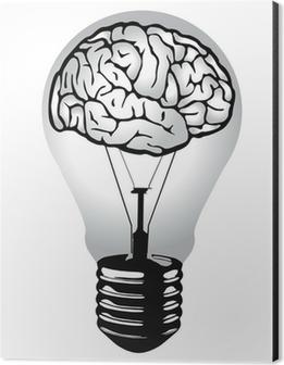 Brain Light Bulb Vector Poster U2022 Pixers® U2022 We Live To Change