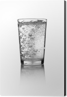 Glass of water Aluminium Print (Dibond)