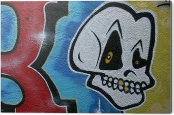 Graffiti Tag Bouquet Têtes Mort Tête Wall Mural