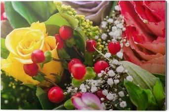 Mazzo Di Fiori X Auguri.Mazzo Di Fiori Bouquet Auguri Poster Pixers We Live To Change
