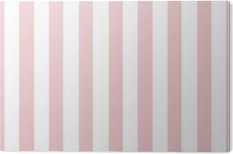 Pink And White Stripe Wallpaper Backdrop Aluminium Print Dibond